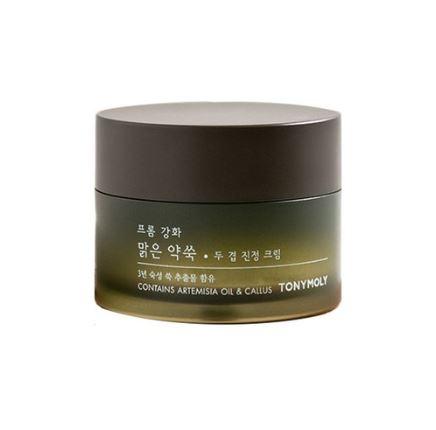 TONYMOLY From Ganghwa Pure Artemisia Two Layering Calming Cream